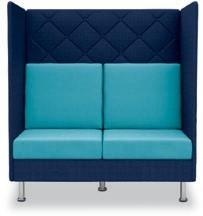Brugt pot sofa sæt fra Dauphin, model: Atelier